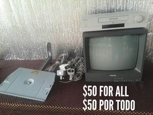 SAMSUNG SURVEILLANCE VIDEO EQUIPMENT, SAMSUNG CAMERAS, VHS RECORDER SURVEILLANCE SERIOUS BUYERS ONLY!!! for Sale in Houston, TX