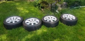 Nissan 350z rims and tires for Sale in Wood Dale, IL