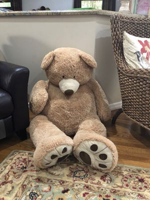 Giant stuffed teddy bear kids toy for Sale in Hollywood, FL