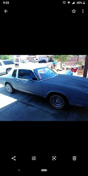 1982 Monte Carlo for Sale in Phoenix, AZ