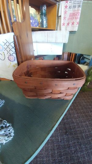 Wall hanging Longaberger Basket for Sale in NO FORT MYERS, FL