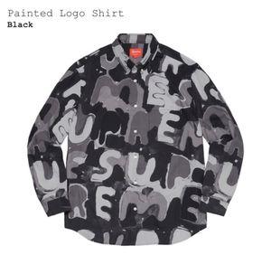 Supreme Painted Logo Shirt for Sale in Manassas Park, VA