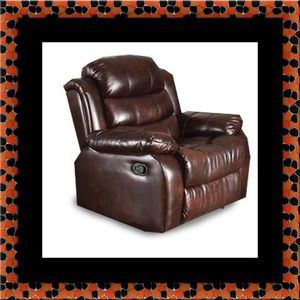 Burgundy recliner chair for Sale in Hyattsville, MD