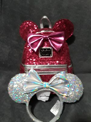 Disney loungefly imagination pink for Sale in Pomona, CA