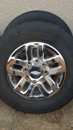 2016 Duramax stock wheels for Sale in Dinuba, CA