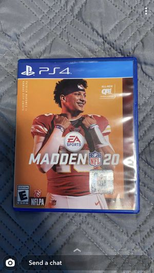 Madden 20 and nba 2k 20 for Sale in Sunnyvale, CA