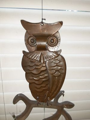 Antique owl winchime for Sale in Southbridge, MA