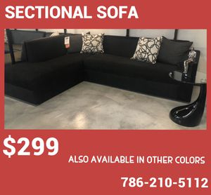 Sectional sofa - Also Available in Other Colors for Sale in Miami, FL