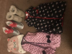 Girls 3T winter lot (pants/pj's/vests/etc) for Sale in Hampton, VA