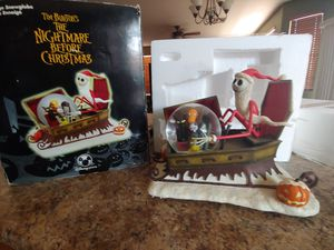 Nightmare Before Christmas Large Snowglobe for Sale in San Tan Valley, AZ