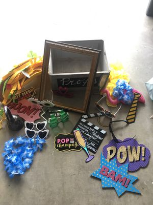 Wedding Photo Booth Prop Box for Sale in Encinitas, CA