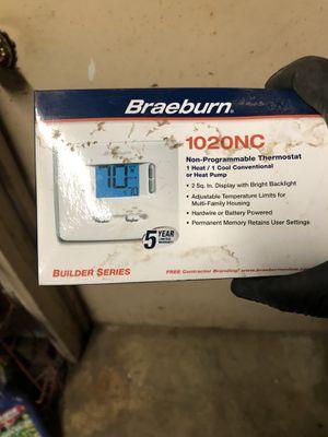 Braeburn Thermostat 1020NC for Sale in Portland, OR