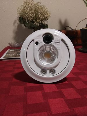 Sengled WiFi Security Light HD 1080 cam with speaker for Sale in Anchorage, AK