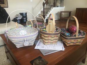 Retired Longaberger baskets for Sale in Lumberton, NJ