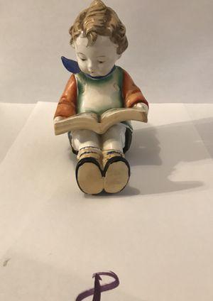 Boy Reading Book. Ceramic? Made in Japan for Sale in Victoria, VA