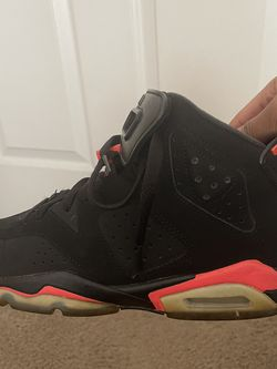 Black Infrared Air Jordan 6s for Sale in Brentwood,  TN