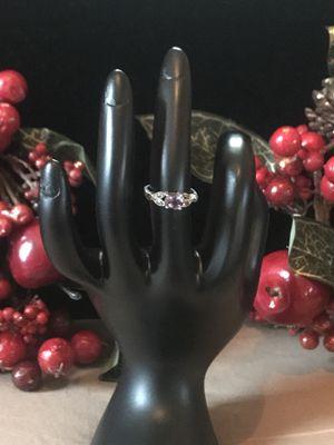 STERLING SILVER STAMP.925 TANZANITE gem RING for Sale in Washington, DC