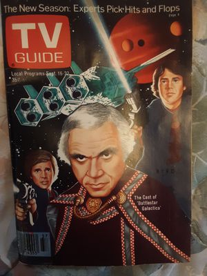 1978 TV Guide featuring the cast of Battleship Galactica for Sale in Marion, MI