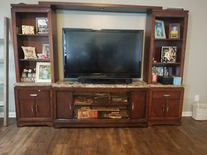 Entertainment Stand and Bookshelves for Sale in Lake Park, NC