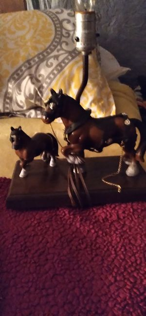 Vintage horse lamp for Sale in Indianapolis, IN