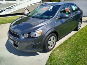 2013 Chevy Sonic. gas saver for Sale in Pomona, CA