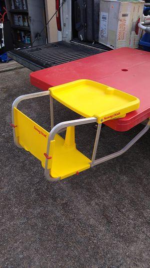 Sassy Seat Kids Booster Seat Yellow for Sale in Atlanta, GA