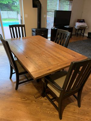 Solid wood dining set for Sale in Quincy, MA