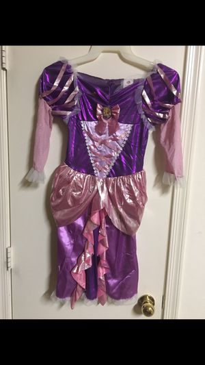 Disney Tangled Rapunzel Girls SZ 7-8 Medium dress up Halloween costume for Sale in El Mirage, AZ