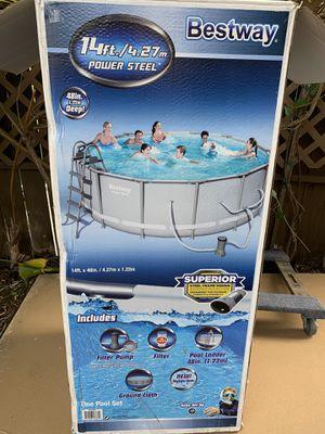 Best way 14' diameter pool for Sale in Rancho Santa Margarita, CA