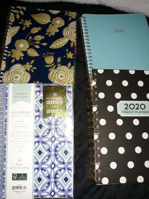 4 weekly and monthly planners for Sale in Talbott, TN