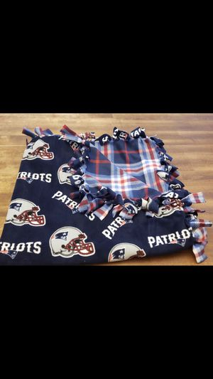Newly Patriots fleece blanket for Sale in Rogers, AR