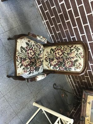Antique Needle point children's chair for Sale in Fort Washington, MD