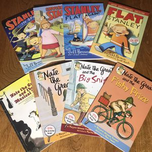 Flat Stanley and Nate the Great Accelerated Reader Books for Sale in Rancho Cucamonga, CA