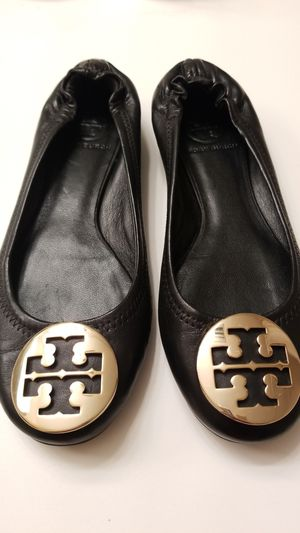 Tory Burch Black Classic Ballet Flats for Sale in West Palm Beach, FL
