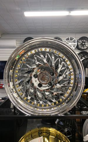 """Aodhan 18"""" ds03 vacuum chrome wheels rims tires 5x114 fit Honda Accord civic Acura Nissan Maxima Lexus Altima tlx tl ilx tsx Infiniti g35 g37 rsx jdm for Sale in Queens, NY"""