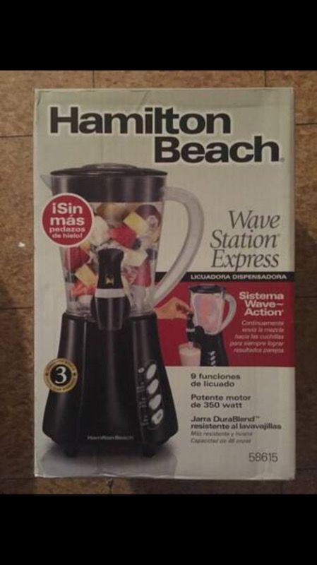 Hamilton Beach Wave Station Express Dispensing Blender