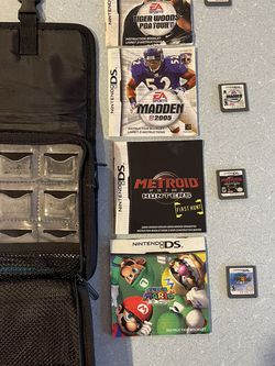 DS Games and Case for Sale in Scappoose,  OR