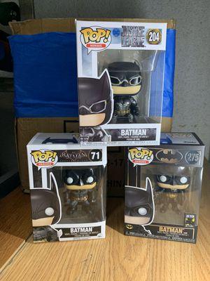 Batman funko pops for Sale in Los Angeles, CA