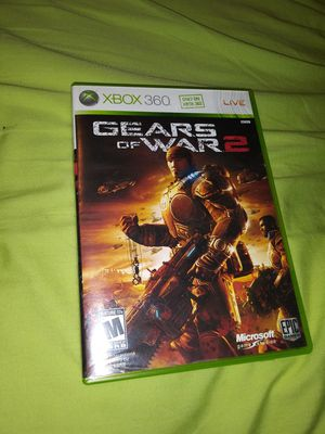 Xbox 360 games Gears of War 2/ Call of Duty Black Ops for Sale in Lebanon, TN