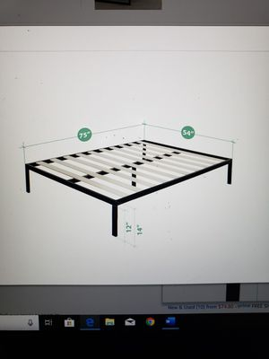 "Brand New ( in the box) Zinus Mia 14"" Full Platform Frame for Sale in Batavia, OH"