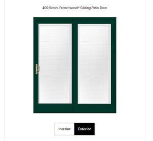 Anderson 400 sliding patio door for Sale in Bothell, WA