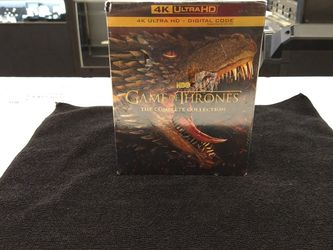 Game Of Thrones The Complete Collection 4k Uhd for Sale in New Britain,  CT