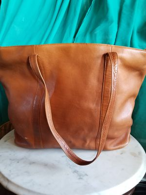 Oversized leather tote bag for Sale in Santee, CA
