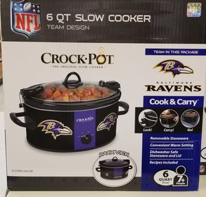 Baltimore Ravens Crock Pot...New In Box for Sale in Baltimore, MD