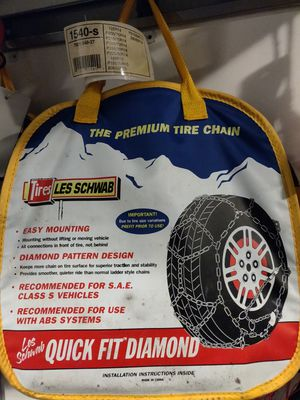 Be ready for winter with these snow chains for Sale in Bothell, WA