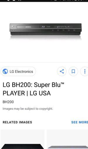 LG Blu Ray HD Dvd Player for Sale in Harper Woods, MI