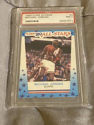 Michael Jordan 1989 Fleer for Sale in Glastonbury, CT