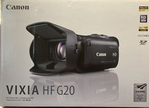 Canon VIXIA HF G20 HD Camcorder for Sale in Little Rock, AR