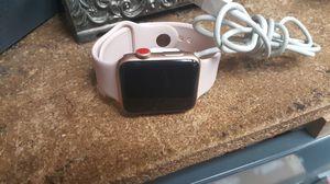 Apple series 3 42mm gps slight crack on corner smart watch for Sale in Baltimore, MD