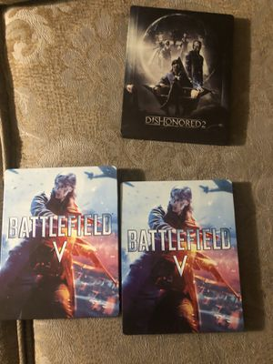 STEELBOOK CASES for Sale in Los Angeles, CA